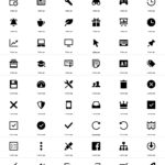 Free simple icons for your next project