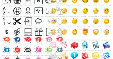 Иконки для разработчиков и дизайнеров