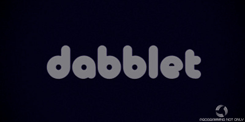 Dabblet