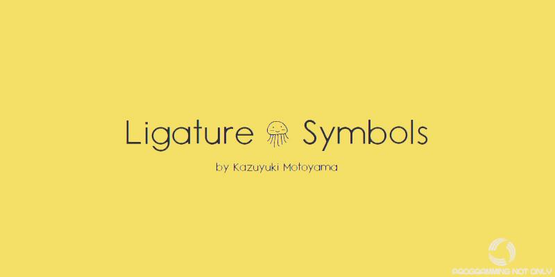 Ligature Symbols