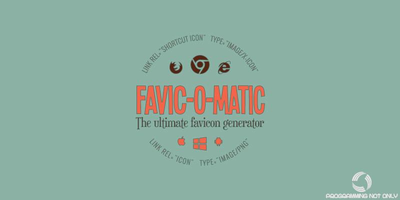 Создание favicon онлайн