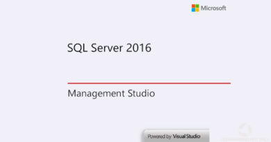 Microsoft SQL Server Management Studio 2016