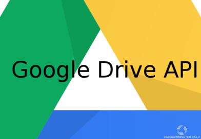 Простая работа с Google Drive API