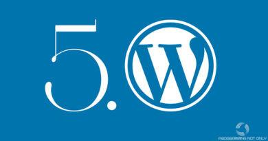 Как отключить Gutenberg в WordPress 5.x?
