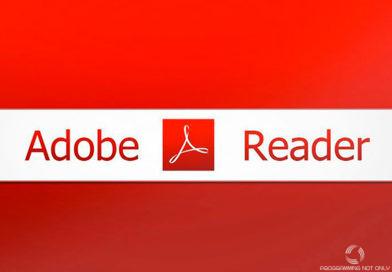 Не открывается PDF файл через Acrobat Reader в Total Commander